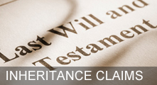 Contesting A Will and Inheritance Claims